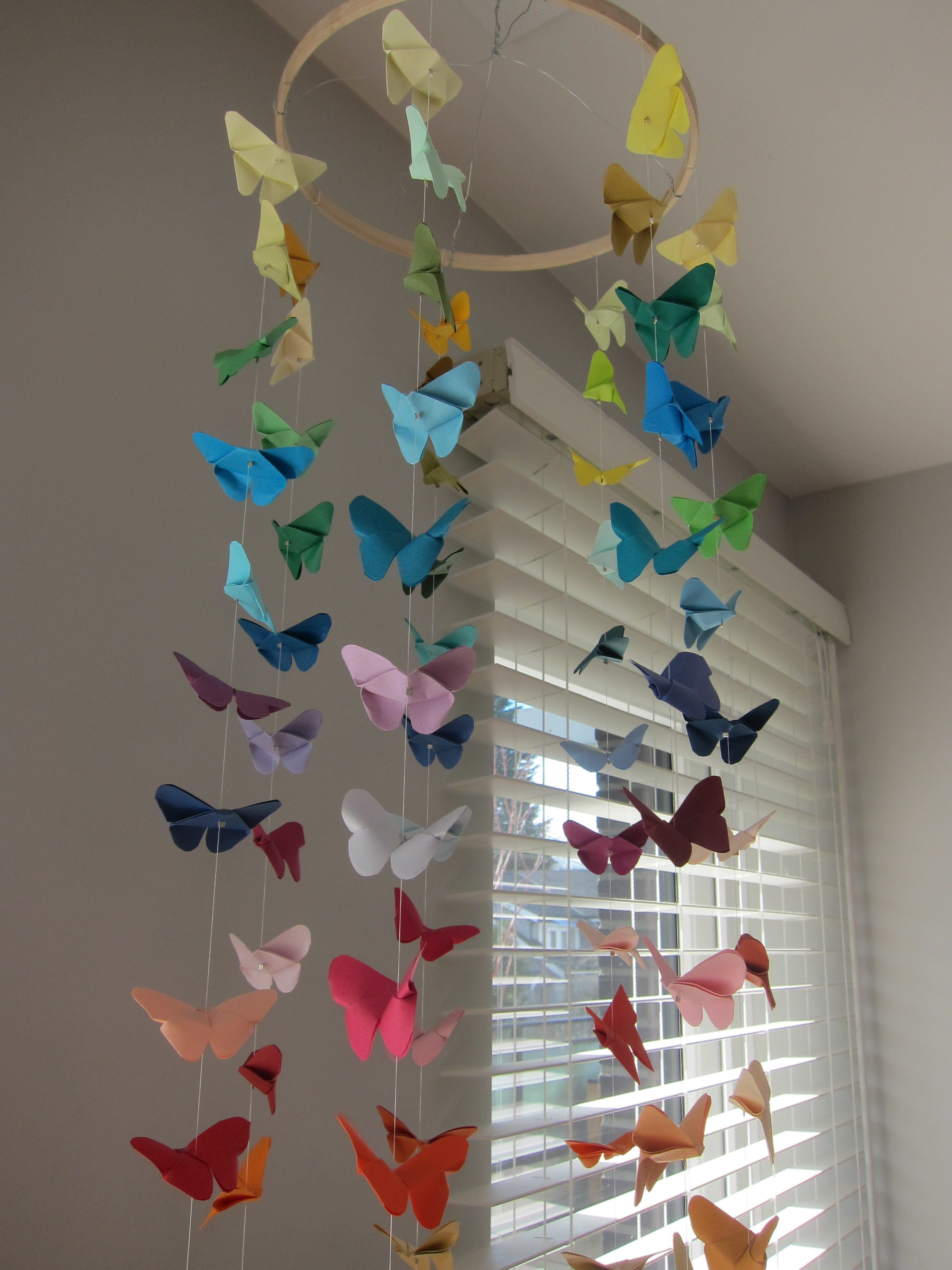 How to Make an Origami Crane for Your Hanging Wedding Decorations ... | 3648x2736